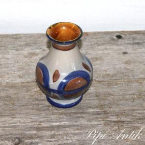 West Germany vase 66-11 cm Grå blå brun Ø10xH14 cm