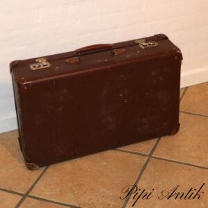 12 Brun pap kuffert retro L60xH28xD16 cm