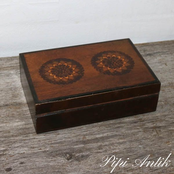 Cigar æske B16xL24xH7 cm