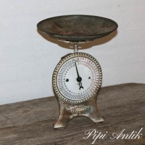 Metalvægt rund skål Ø23x19 cm H