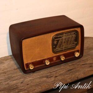 Retro teak radio L36xD20xH21 cm
