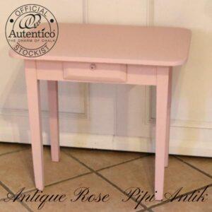 Antique Rose lille pige skrivebord Autenticio L49x42x54 cm H