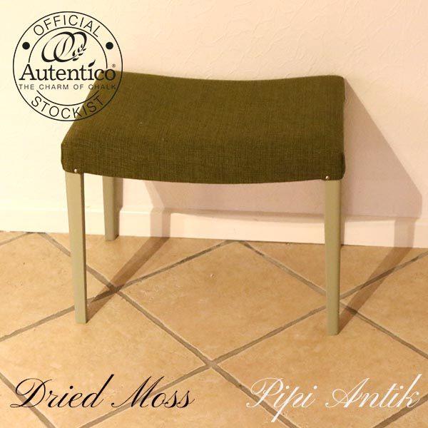 Dried Moss skammel L52xB37xH43 cm Autentico