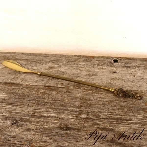 Messing skohorn L45 cm