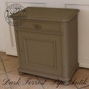Sengebord toiletbord Dark Forrest Autentico B69xD42xH77 cm