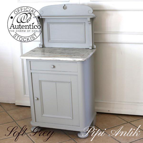 Soft Grey Toiletbord med hylde marmor B63xD42xH78 cm med ryg 121 cm