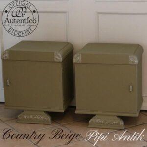 Country Beige natbord Autentico B47xD37xH57 cm