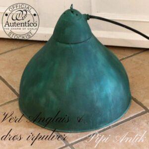 Vert Anglais irgrønt industrilampe Ø42x40 cm