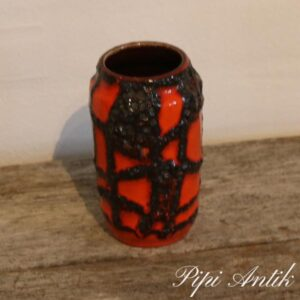 West Germany vase 231 Orange Ø6,5xH15 cm