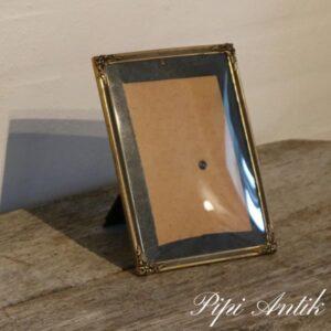 36 Metal fotoramme guldlook H20x15,5 cm