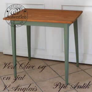 Vert Olive en sjat Vert Anglais mix L80xB60xH75 cm