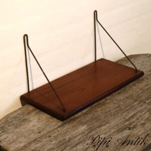 String teak hylde lille L41xD19,5xH21 cm