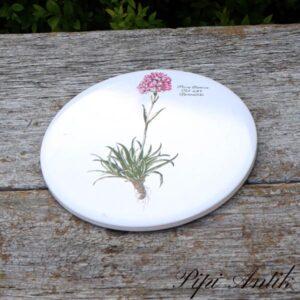 Flora Danica blomster platte uden ophæng Thærenellike Ø15,4 cm