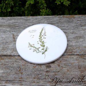 Flora Danica blomster platte uden ophæng Torskemund Ø15,4 cm