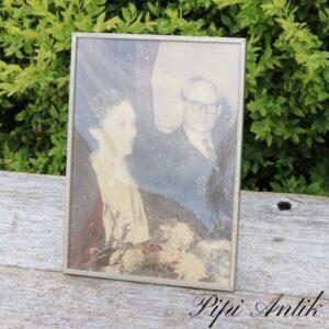 Tin fotoramme B16,5xH22,5 cm