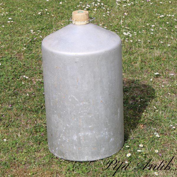 Aluminiumstønde til brændstol brugt til brændstol Ø30xH57 cm