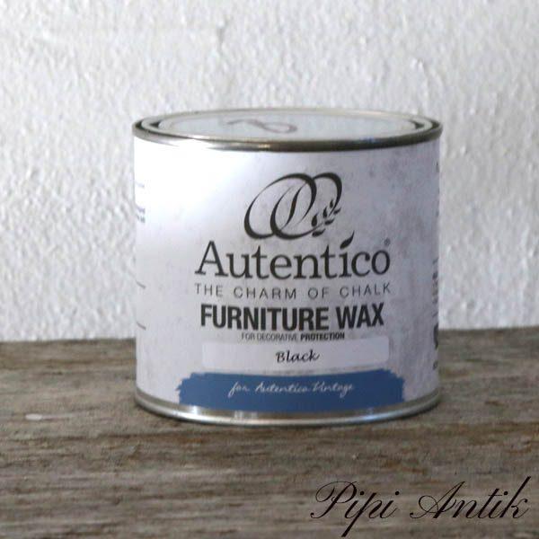 500 ml Black Wax Sort voks Autentico