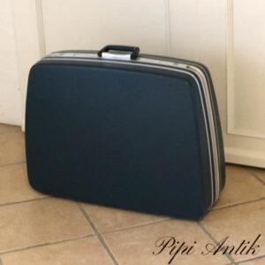 Blålig Cavalet kuffert retro L69xD19x53cm H