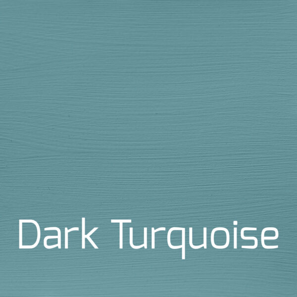 1 liter Dark Turquoise mat kalkmaling Versante Autentico