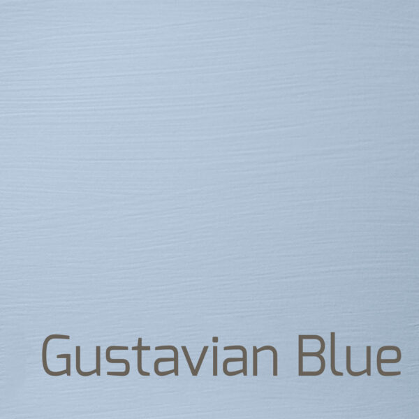 1 liter Gustavian Blue mat kalkmaling Versante Autentico