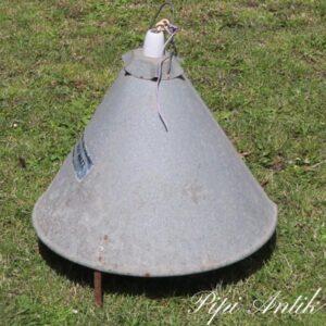 05 Griselampe galvaniseret industrilampe Ø48,5xH48 cm