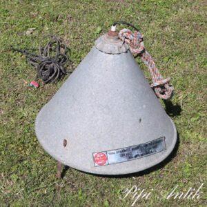 10 Griselampe zink industrilampe Ø50x48 cm H