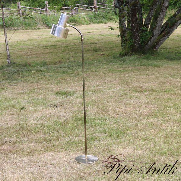20 Retro slidt pudset gulv lampe patineret Øfod 20xH121 cm