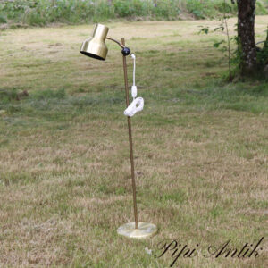 24 Gulvlampe retro guld look Ø22xH99 CM