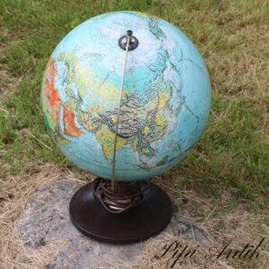 Globe plastik bund Scan Globe Danmark 1972 Ø30xH45 cm