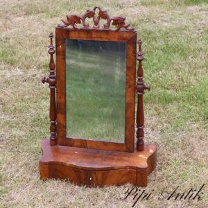 47 Pigtitare vippespejl med spejl patina B51xD23xH72 cm