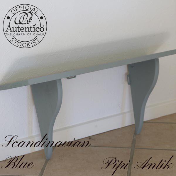 Scandinavian Blue dyb hylde L80xD23xH40 cm
