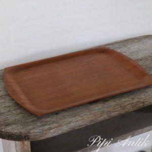 012 Teak bakke Made in Denmark L44xB32 cm