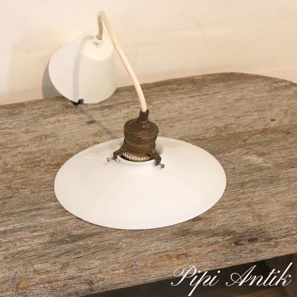 03 Loftlampe hvid Ø20x10 cm