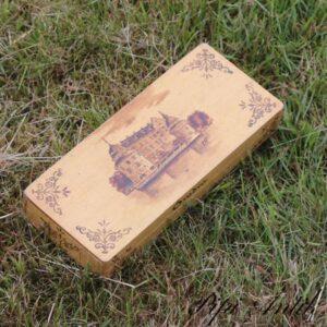 Blyant kasse Ôrebro L21xB9xH3 cm med 5 rum inde i kassen