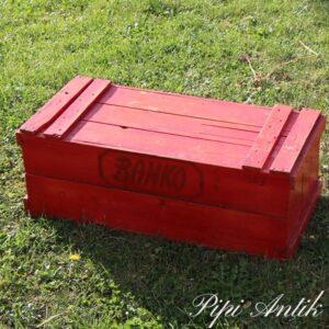 Banko spejderkasse med hemmelig lukning L67xB31xH25 cm