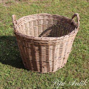 Vasketøjskurv rundt Ø54xH37 cm