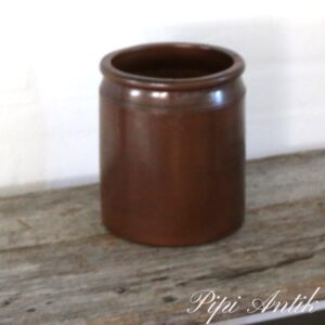 Lerkrukke brun 4 liter Ø18xH21 cm