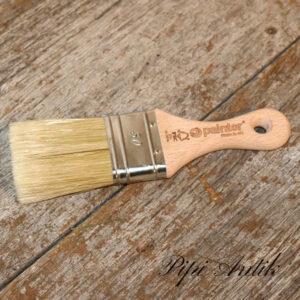 50 mm pensel med kort 80 mm træskaft