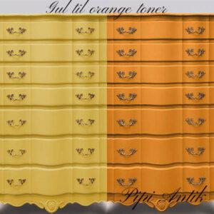 Gul til orange farve toner i Versante 1000 ml
