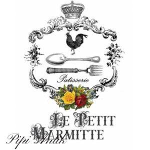 Transfer HDT-016 Le Peit Marmitte 25x35 cm