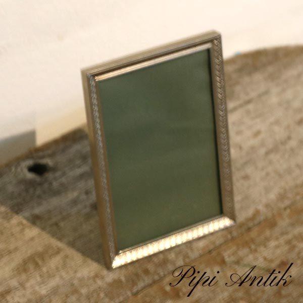 16 Retro sølv look fotoramme B9,5xH13 cm