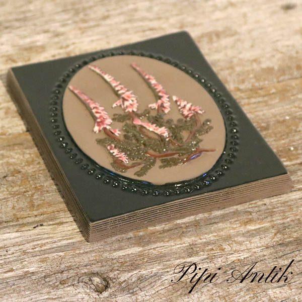 03 JIE keramik billede nr 890 Lyng B13xH17 cm