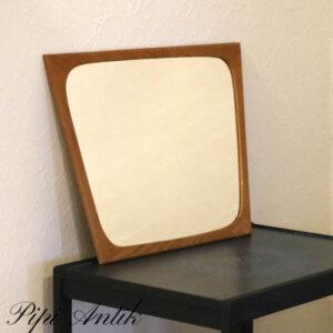 04 Retro lyst teak spejl L44,5xb60,5 cm