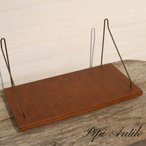 06 String teak hylde L41xB21xH21 cm