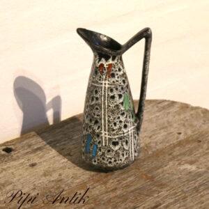 West Germany keramik kandevase 404 20 Ø10xH20 cm