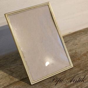 10 Metal sølv look fotoramme B18,5xH24,5 cm