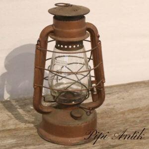 Flagermuslampe staldlampe stor med patina Ø15xH33 cm