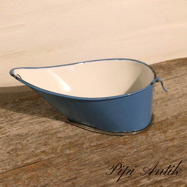 21 Madam Blå flour melis sig L21,5xB11,5xH8 cm
