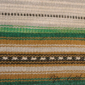 21 Siv mintgrøn carry beige lyseblå kludetæppe B120xL176 cm