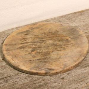33 Skærebræt patineret Ø28,5x1,5 cm H